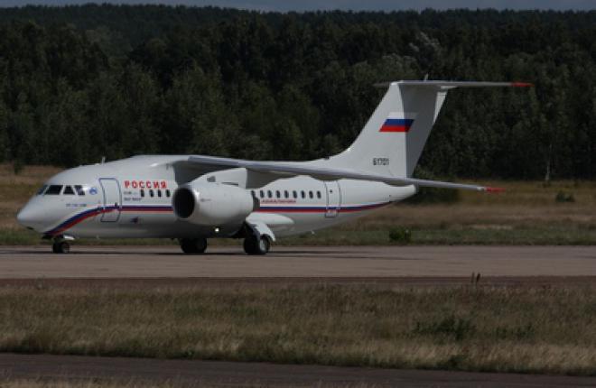Ан-148 достиг уровня рентабельности :: Федор Борисов / Transport-Photo.com