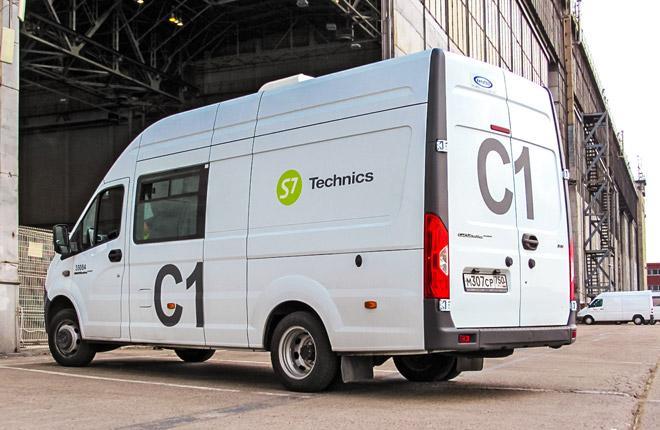Спецавтомобиль KitCar провайдера S7 Technics