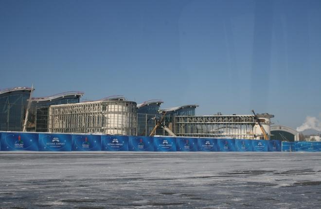 В аэропорту Астаны завершили строительство нового терминала