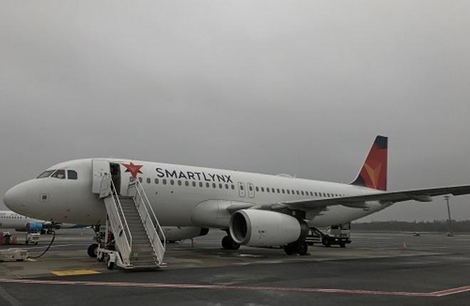 Самолет семейства Airbus А320 SmartLynx Airlines