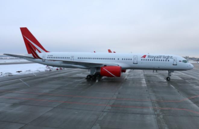 Авиакомпания Royal Flight получит первый Boeing 737NG