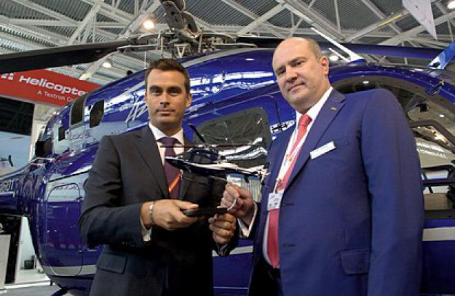 По словам Патрика Мулэ (слева), компания Bell рассчитывает продавать в России ок