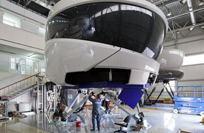 """Тренажер Sukhoi Superjet 100 в """"Аэрофлоте"""""""