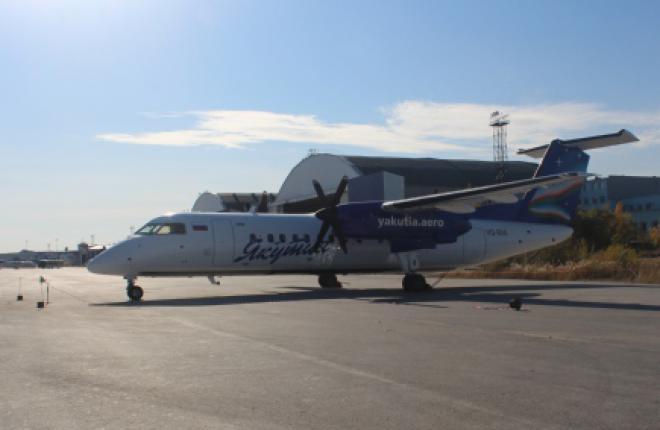 «Якутия» не может добиться допуска Bombardier Dash 8-300Q на грунтовые аэродромы