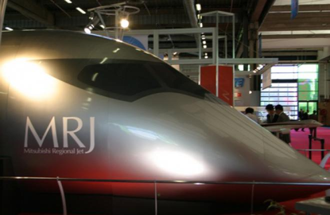 Японский конкурент Sukhoi Superjet 100 (SSJ 100) пришел в Европу