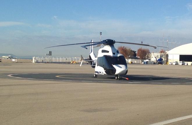 Прототип H160 в Мариньяне