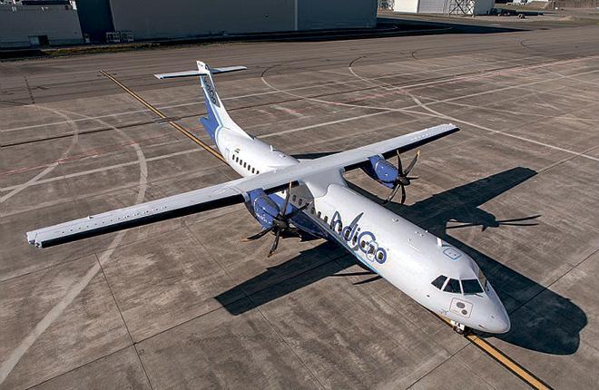 экономические характеристики ATR 72-600 хорошо подходят для индийского рынка авиаперевозок