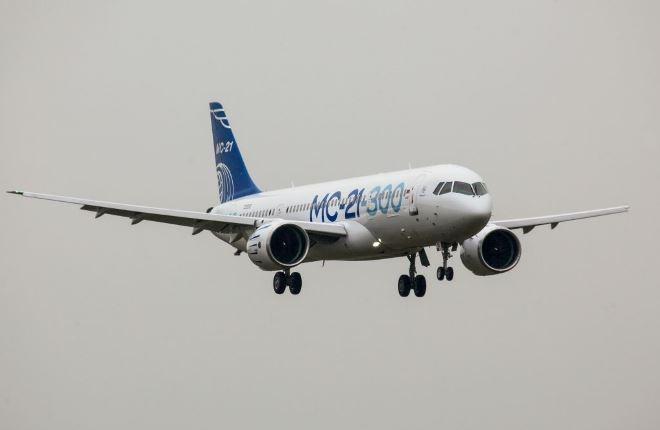 Самолет МС-21 002