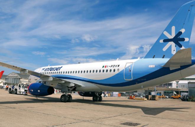 Мексиканская авиакомпания InterJet демонстрирует пример эксплуатации самолета SSJ100