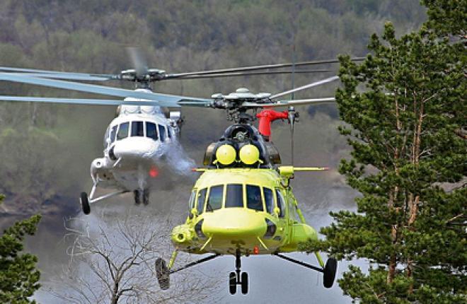 Вертолеты семейства Ми-8/17 пользуются ажиотажным спросом во всем мире