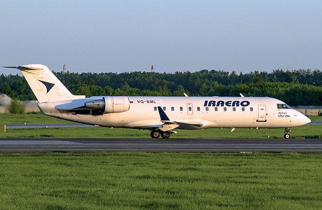 "самолет ""Ираэро"" CRJ200"