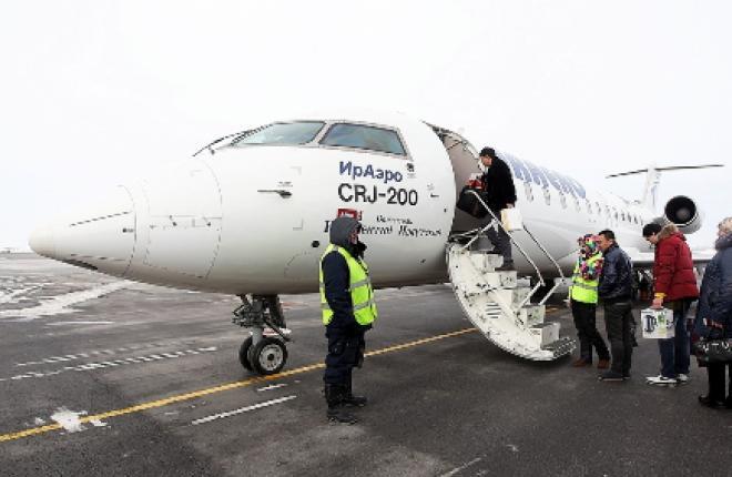 """Авиакомпания """"ИрАэро""""полетела из Новосибирска в Маньчжурию"""