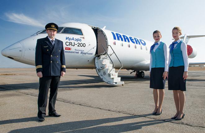 """Авиакомпания """"ИрАэро"""" включила SSJ 100 в июньское расписание"""