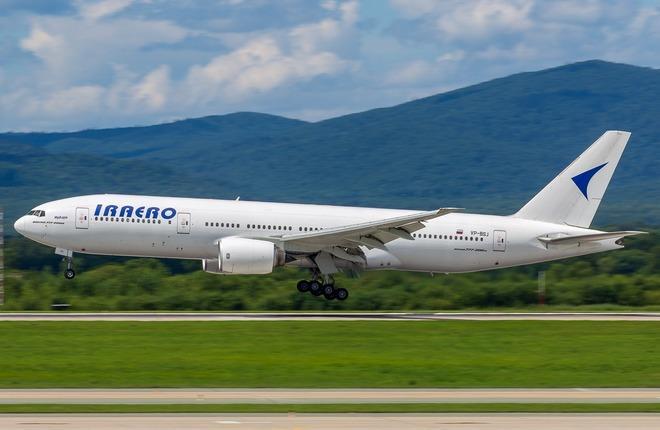 """Самолет Boeing 777-200ER авиакомпании """"ИрАэро"""""""