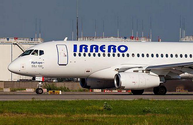 """Авиакомпания """"ИрАэро"""" получит четыре новых SSJ 100LR"""
