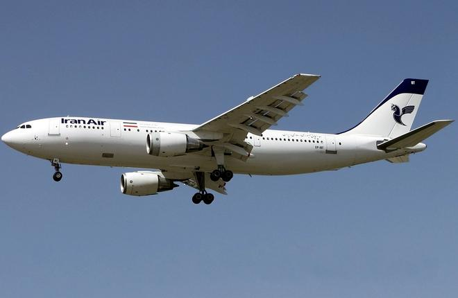 Самолет Airbus A300 авиакомпании Iran Air