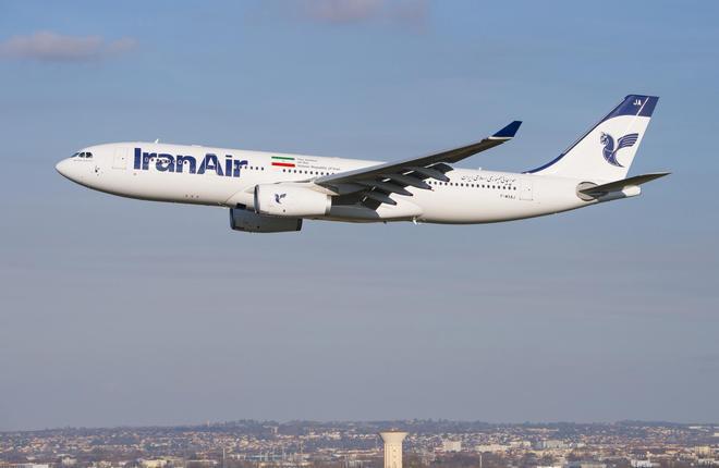 Iran Air получил первый новый широкофюзеляжный самолет Airbus