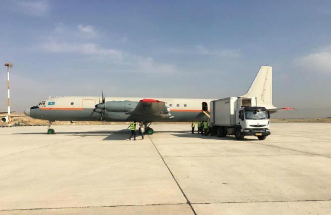 Ил-18 Казахстан