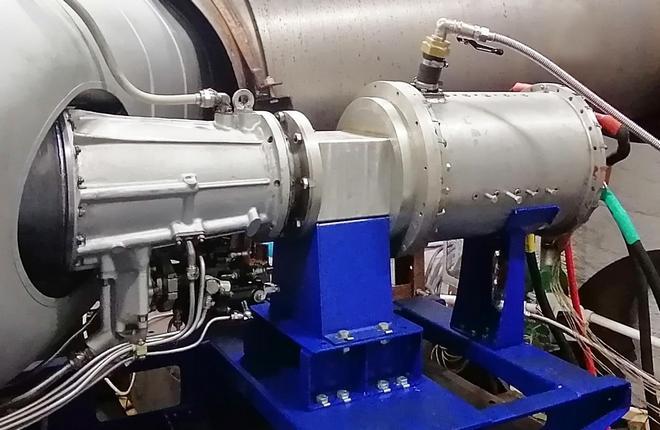 ЦИАМ испытал турбогенератор гибридной силовой установки