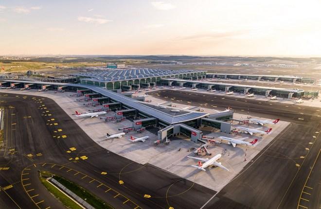 новый аэропорт Стамбула (код IATA : IST)