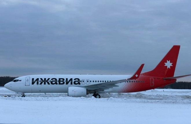 Первый Boeing 737-800 авиакомпании «Ижавиа»