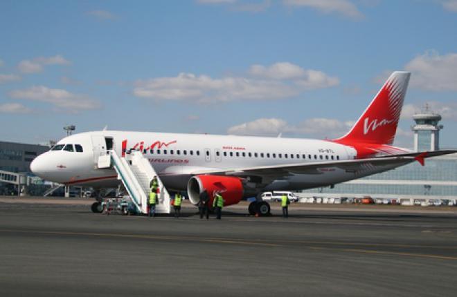 """Авиакомпания """"ВИМ-авиа"""" получила первый самолет Airbus A319 :: Сергей Сергеев"""