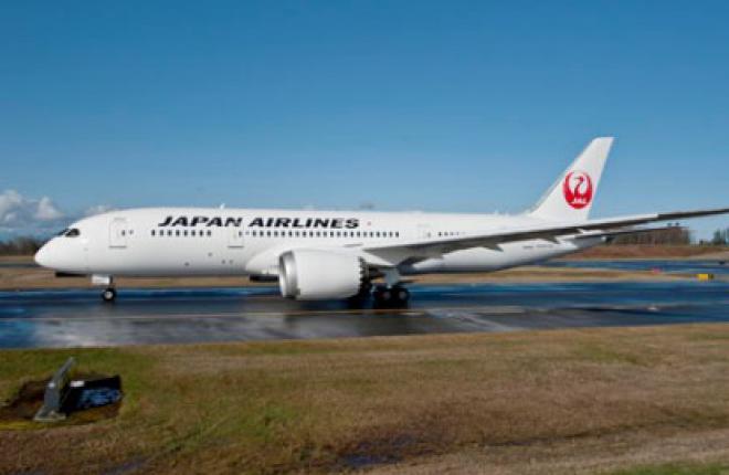 Авиакомпания JAL получила два самолета Boeing 787 Dreamliner
