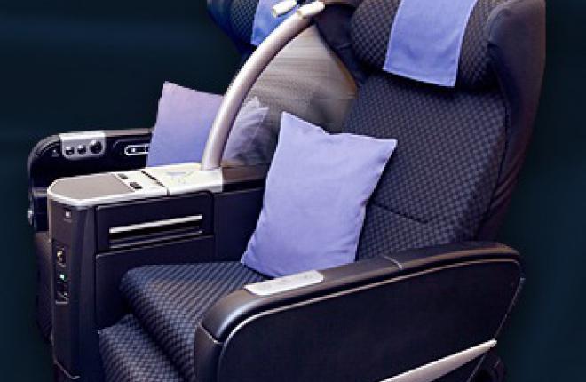 Авиакомпания Japan Airlines оборудует самолеты Boeing 777-300 новыми креслами
