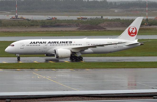 Boeing 787-8 Japan Airlines