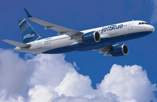 Авиакомпания JetBlue выбирает двигатели PW1100G
