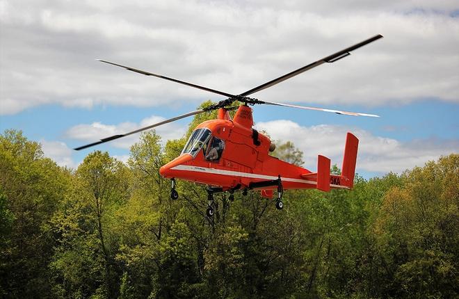 Возрожденный вертолет K-MAX совершил первый полет