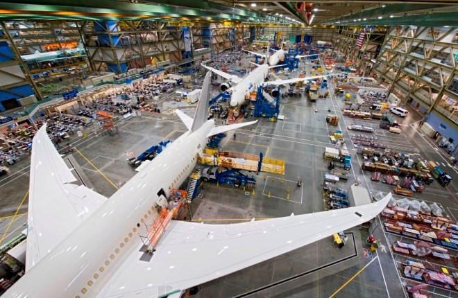 Производство 787