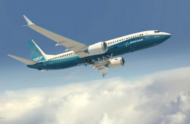 Boeing увеличит вместимость самолета 737MAX до 199 кресел