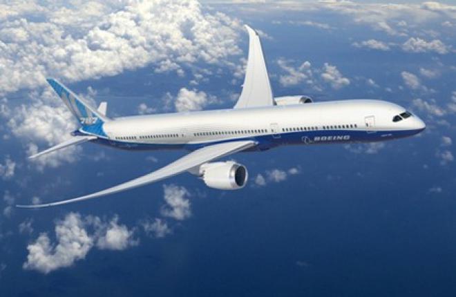 Завершена разработка конструкторской документации на самолет Boeing 787-10
