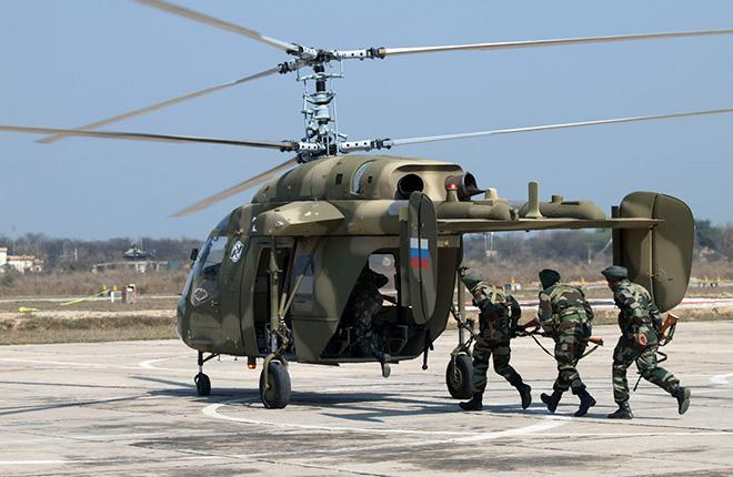 """""""Ростех"""" подтвердил организацию в Индии сборки вертолетов Ка-226Т"""