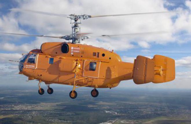 """Вертолет Ка-32A11BC впервые поставлен в Бразилию :: """"Вертолеты России"""""""
