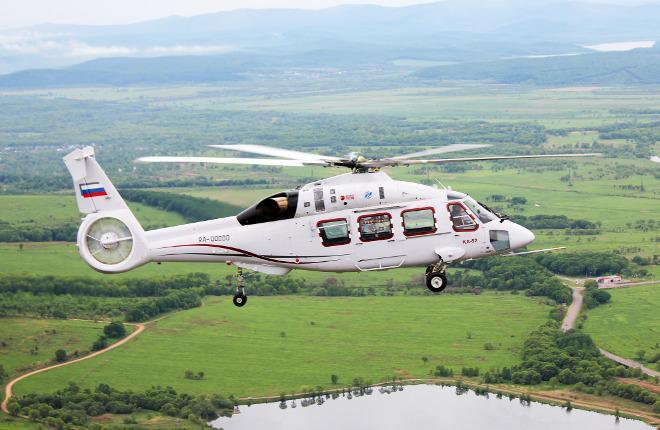 Вертолет Ка-62 совершил первый полноценный полет