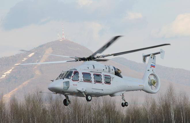 В Европе сертифицировали двигатель для вертолета Ка-62