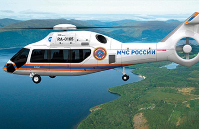 ВЭБ финансирует разработку вертолета Ка-62 с 2011 г.