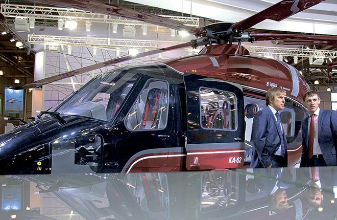 Разработка Ка-62 стартовала в 1992 г., а его первый прототип был показан на HeliRussia2012