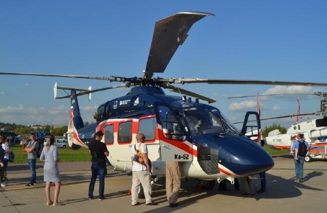 Вертолет Ка-62 на МАКС-2019
