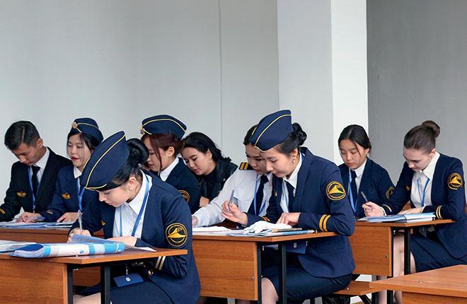 Учебная аудитория Киргизского Авиационного Института