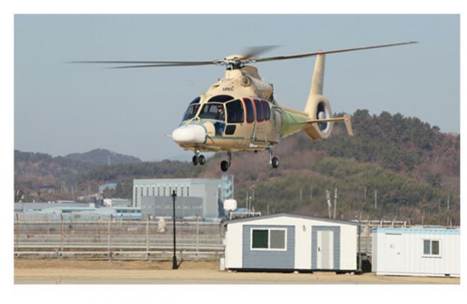 Прототип первого легкого южно-корейского вертолета