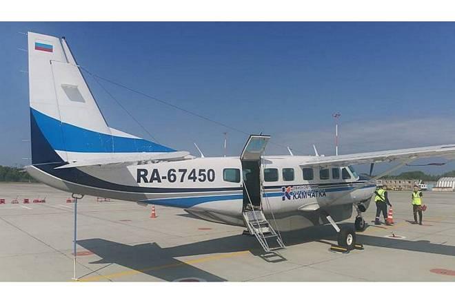 9-местный однодвигательный поршневой Cessna Grand Caravan EX авиакомпании Камчатка (бортовой регистрационный номер RA-67450)