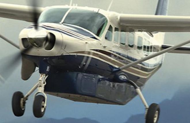 """Бурятская авиакомпания """"ПАНХ"""" получила первый самолет Cessna 208 Grand Caravan"""