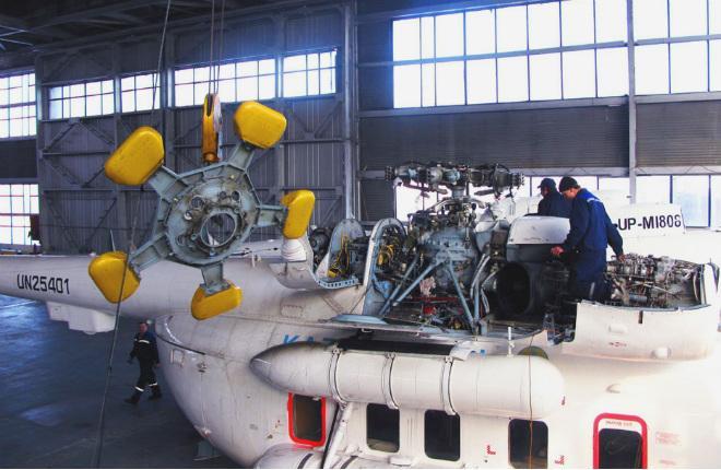 Ми-8 в Казахстане