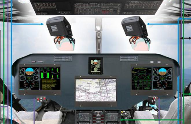 Авионику для перспективного среднего вертолета покажут на HeliRussia 2014