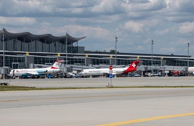 Пассажиропоток аэропорта Борисполь вырос на 13% с начала года