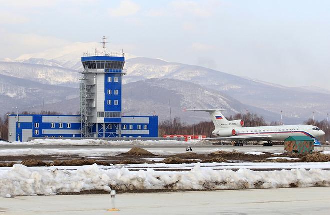 В аэропорту Елизово ввели в строй новый командно-диспетчерский пункт