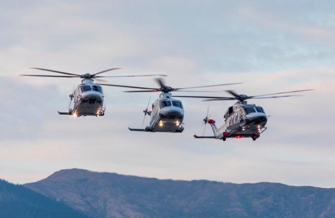 AW139, AW169, AW189